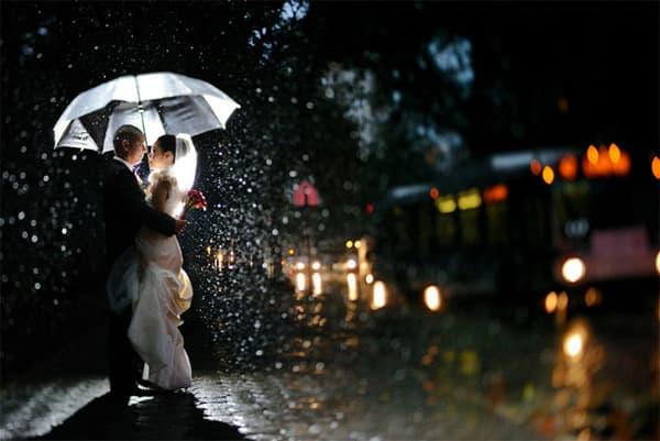 love couple in rain 5